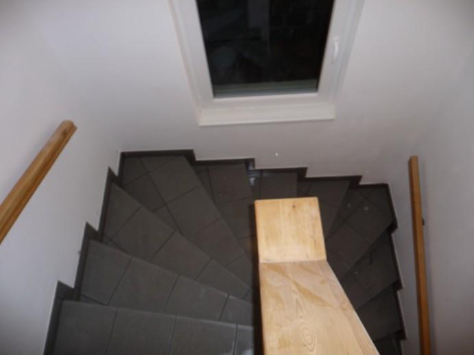 Obložení schodů dřevem