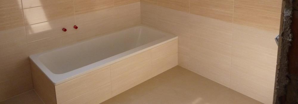obkladačské práce koupelen